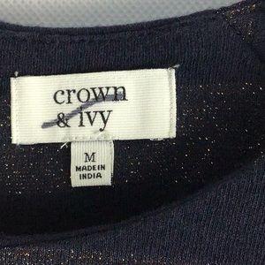 crown & ivy Tops - Crown & Ivy Top🛍